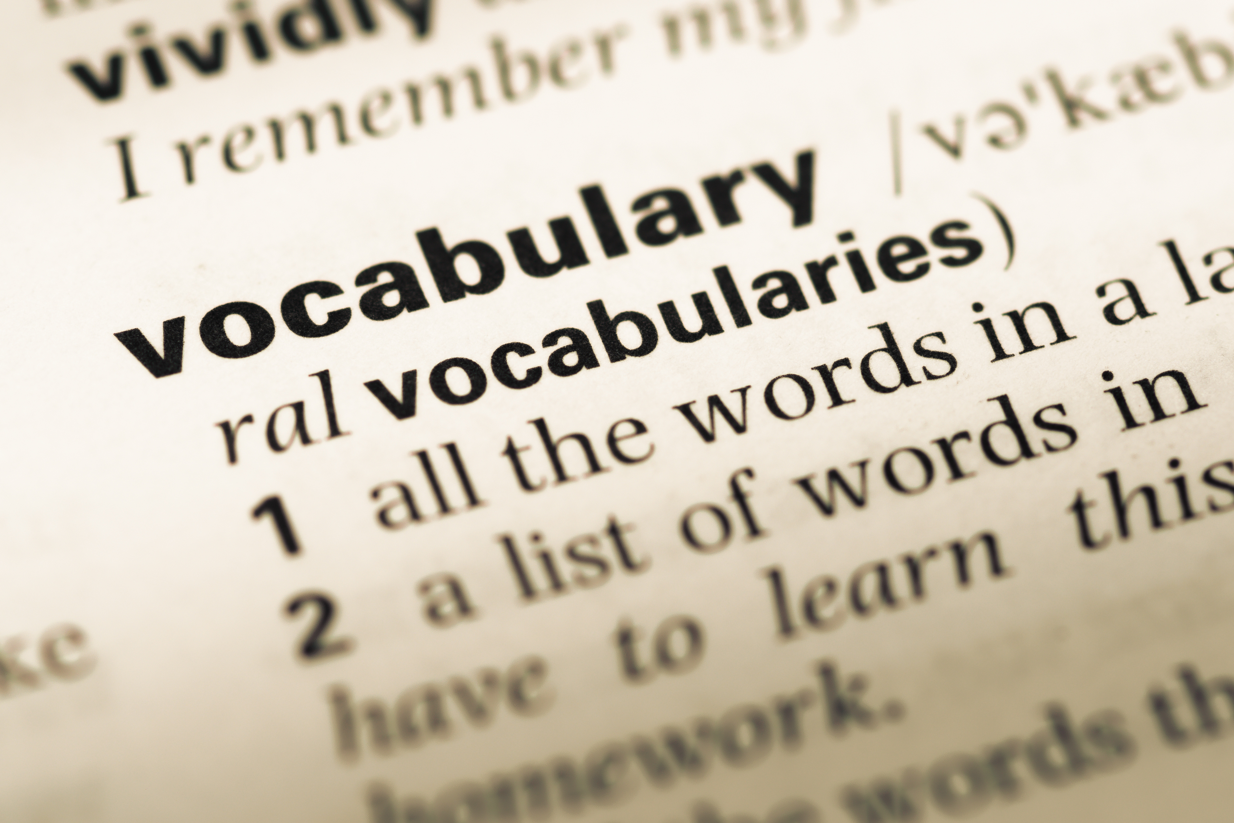 Daily Vocabulary Fun
